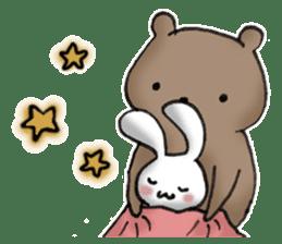 Long-distance couples part3-winter love sticker #8506651