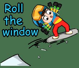 Snowboard, Born to Ride. sticker #8507286