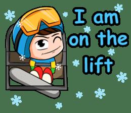 Snowboard, Born to Ride. sticker #8507288