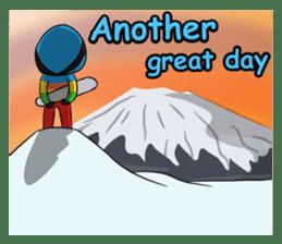 Snowboard, Born to Ride. sticker #8507290