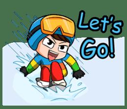 Snowboard, Born to Ride. sticker #8507295