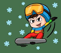 Snowboard, Born to Ride. sticker #8507296