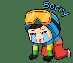 Snowboard, Born to Ride. sticker #8507303