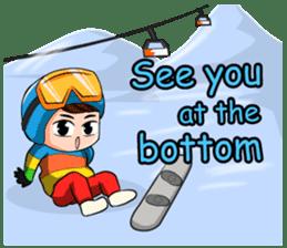 Snowboard, Born to Ride. sticker #8507309