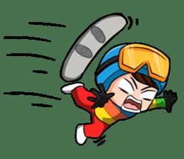 Snowboard, Born to Ride. sticker #8507314