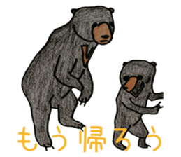 Here we go! Mr.Sun bear sticker #8508305