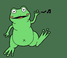 I'm a frog sticker #8509387