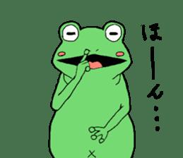 I'm a frog sticker #8509395