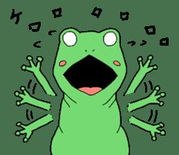 I'm a frog sticker #8509407