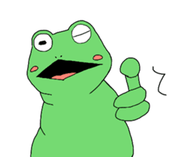 I'm a frog sticker #8509408