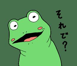 I'm a frog sticker #8509413