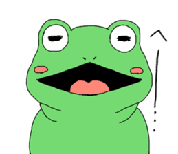 I'm a frog sticker #8509416