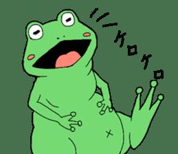 I'm a frog sticker #8509419