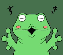 I'm a frog sticker #8509423