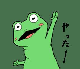 I'm a frog sticker #8509425
