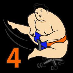 A cute Sumo wrestler 4