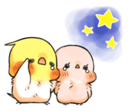 Okame-kun & pink-chan Vol.4 sticker #8517256