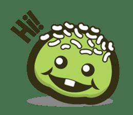 Klepon Cake sticker #8520362