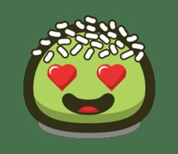 Klepon Cake sticker #8520365