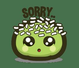 Klepon Cake sticker #8520366