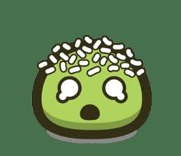 Klepon Cake sticker #8520369