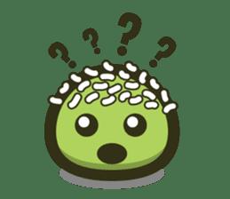 Klepon Cake sticker #8520371