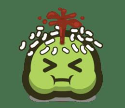 Klepon Cake sticker #8520372