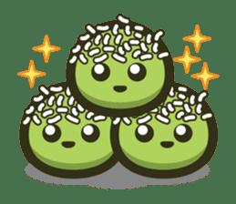 Klepon Cake sticker #8520376