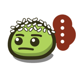 Klepon Cake sticker #8520381