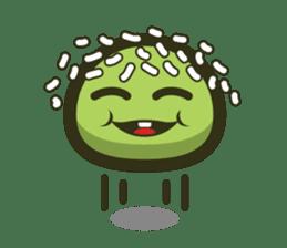 Klepon Cake sticker #8520383