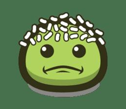 Klepon Cake sticker #8520385