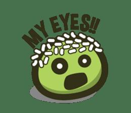 Klepon Cake sticker #8520390