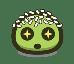 Klepon Cake sticker #8520395