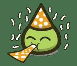 Klepon Cake sticker #8520397