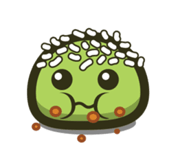 Klepon Cake sticker #8520399
