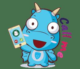 Concordian Dragon sticker #8525003