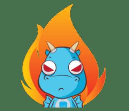 Concordian Dragon sticker #8525006