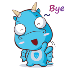 Concordian Dragon sticker #8525007