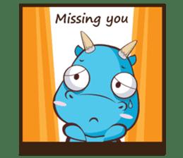 Concordian Dragon sticker #8525011