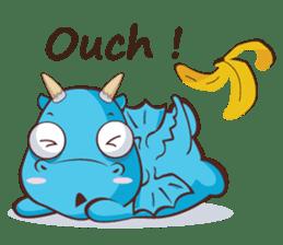 Concordian Dragon sticker #8525012