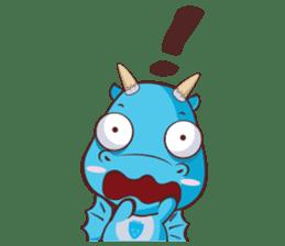 Concordian Dragon sticker #8525013