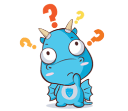 Concordian Dragon sticker #8525014
