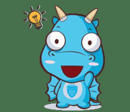 Concordian Dragon sticker #8525015
