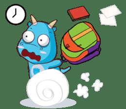 Concordian Dragon sticker #8525019