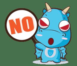 Concordian Dragon sticker #8525021