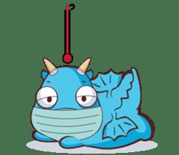 Concordian Dragon sticker #8525024