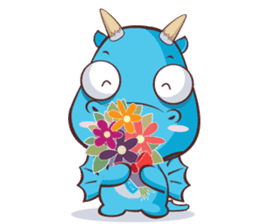 Concordian Dragon sticker #8525025