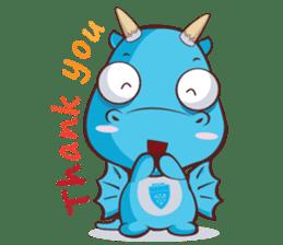 Concordian Dragon sticker #8525027