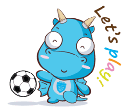 Concordian Dragon sticker #8525029
