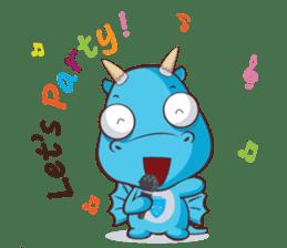 Concordian Dragon sticker #8525030